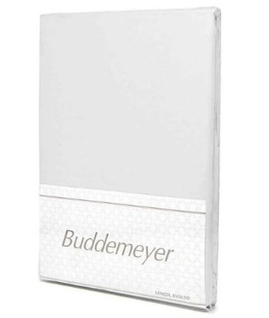 Lençol C/ Elástico Branco - S. King - Buddemeyer