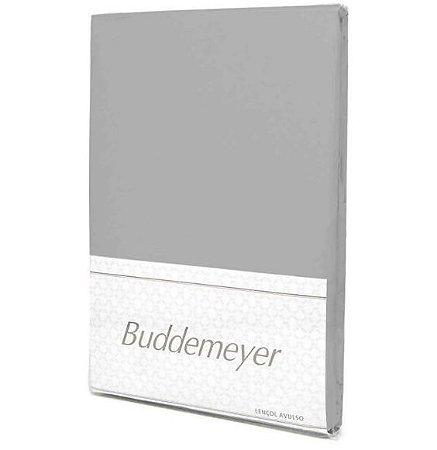 Lençol C/ Elástico Cinza - S. King - Buddemeyer