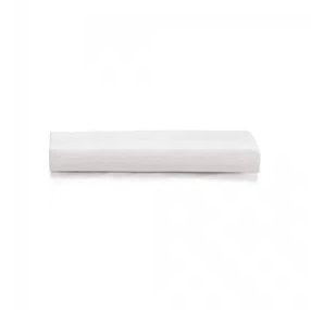 Lençol C/ Elástico Liss Branco - Queen - Karsten