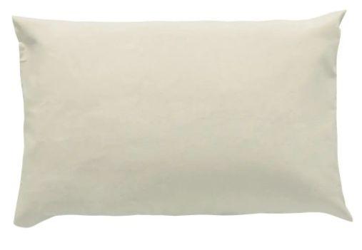 Fronha 180 Fios Bege - 50cm X 70cm
