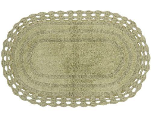 Tapete Oval de Croche 60X90 - Fendi - Kacyumara