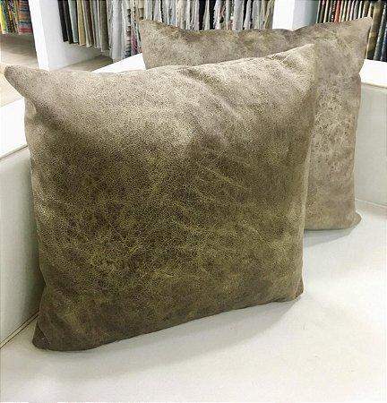 Almofada de Veludo Cobre - 50X50
