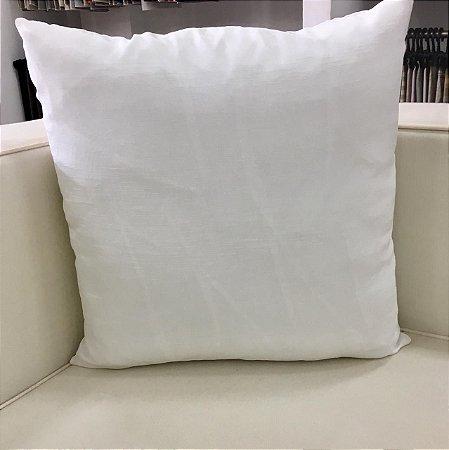 Almofada branca - 50X50