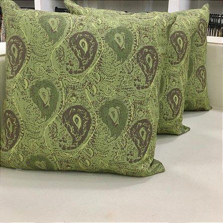 Almofada verde - 50X50