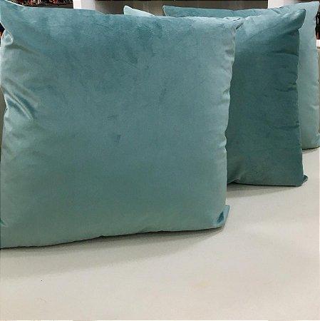 Almofada de Veludo Verde Serenity - 50X50