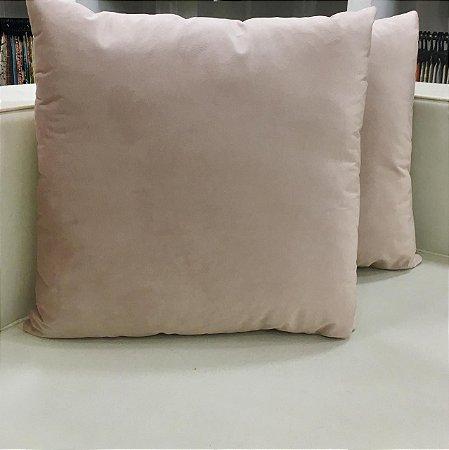 Almofada de veludo - Rosa seco - 50X50
