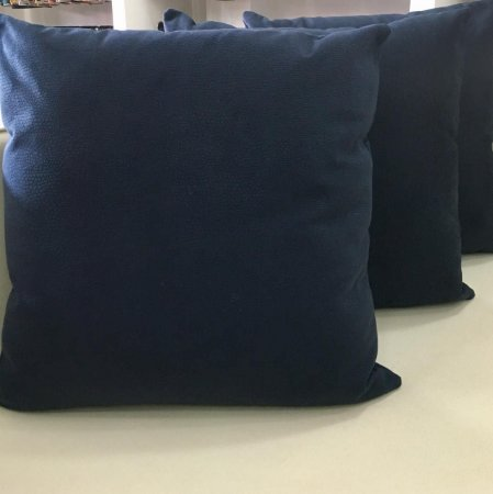 Almofada azul escuro - 50X50