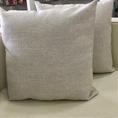 Almofada linhão branca - 50X50