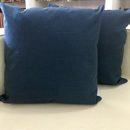 Almofada linhão azul - 50X50