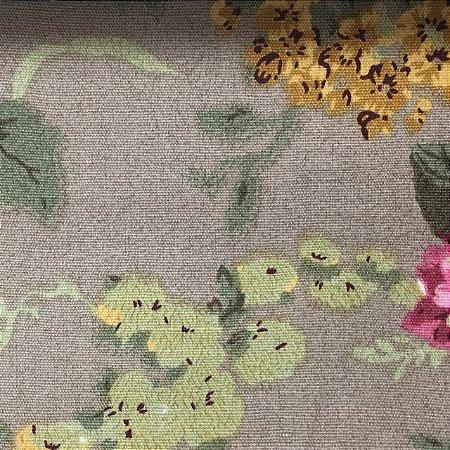Linho Pure Linen 1277 - Floral Rosas 05