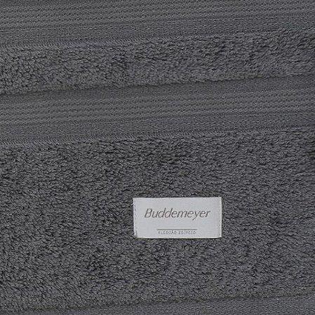 Toalha de Rosto Budmmeyer 48cm X 90cm - Cinza