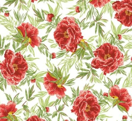 Karsten Decor Acquablock Maracaibe Vermelho Floral