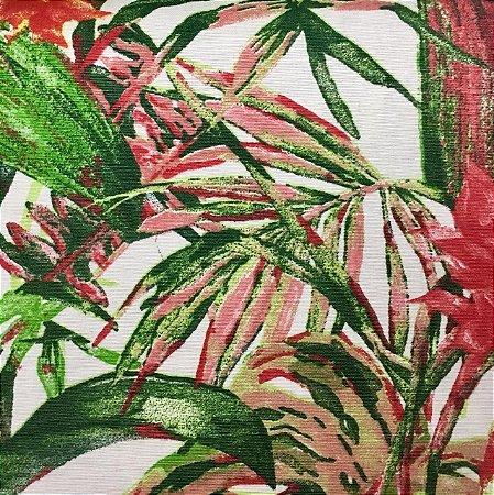 Aquatec Floral Verde/Vermelho - Fiama