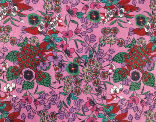 Tecido Estampado - Chai Rosa 3050212