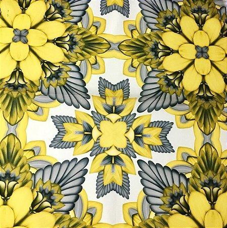 Soleil Digital - Psic Amarelo/Cinza