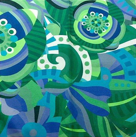 Soleil Digital - Multi Verde/Azul