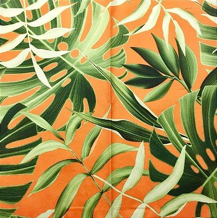 Soleil Digital - Folha Verde/Laranja