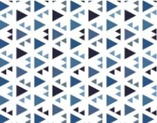 Linho Florata - Cor Geométrico Azul 062740