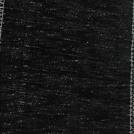 Tecido Futon Bayama Liso - Preto Fundo Linho