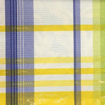 Aquatec 071683 - Xadrez Azul/Amarelo 02