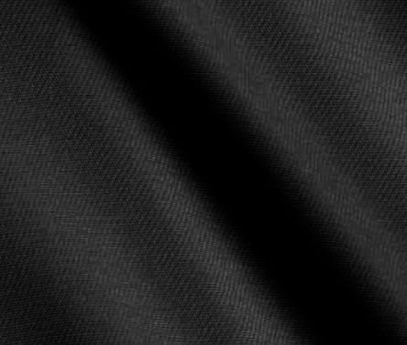 Tecido Saja Peletizada Preto Liso 897 - 1,50m de largura