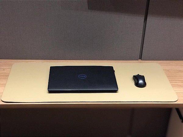 Desk Pad Creme Cor 11 - 90cm X 40cm -La Casa
