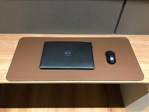 Desk Pad Marrom Cor 20 - 90cm X 40cm - La Casa