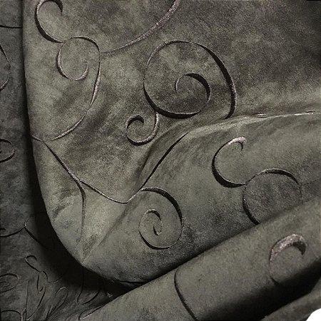 Camurça NewSuede Bordada 1351 - Marrom 11