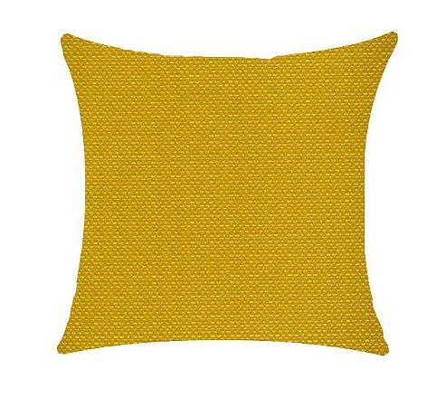 Almofada com Enchimento 50X50 - Garden Trancoso Mostarda