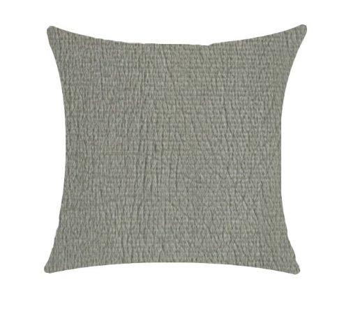 Almofada com Enchimento Veludo Stone - Cinza - 50X50