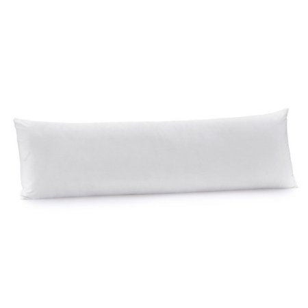 Fronha Branca Body Pillow 180 fios - 40cm X 1,30m