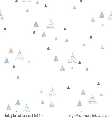 Papel de Parede Boninex - Babylandia REF 5443