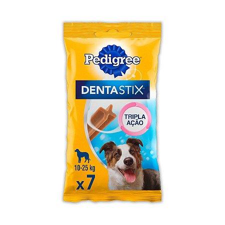 Petisco Pedigree Dentastix Cuidado Oral Para Cães Adultos Raças Médias