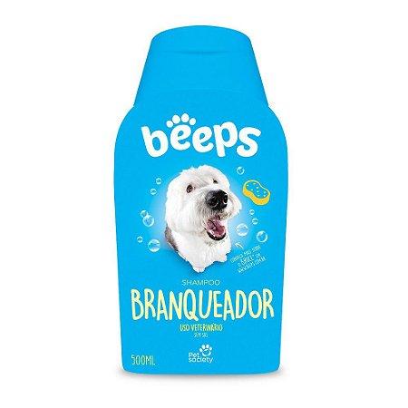 Beeps Pet Society Shampoo para Cães e Gatos Linha Branqueador