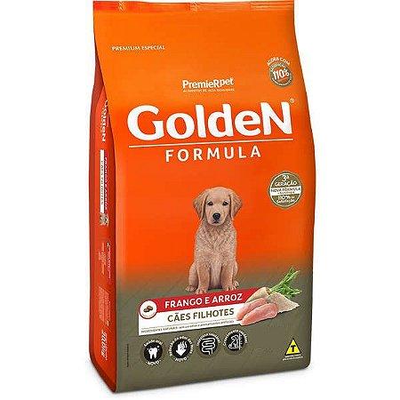 Ração Golden Formula Cães Filhotes Frango e Arroz