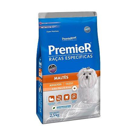 Ração Premier Raças Específicas Maltês Cães Adultos 2,5kg