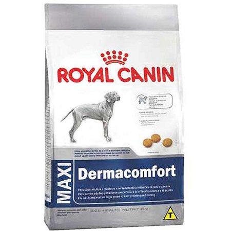 Ração Royal Canin Maxi Dermacomfort para Cães Adultos e Idosos de Raças Grandes 15kg