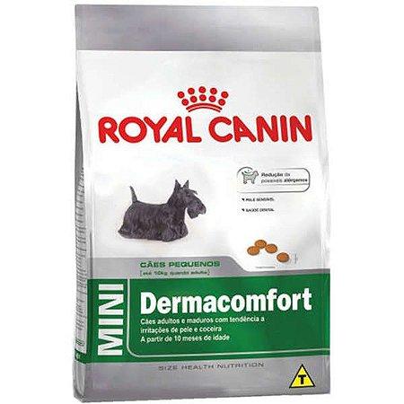 Ração Royal Canin Mini Dermacomfort para Cães Adultos ou Idosos de Raças Pequenas 7,5kg