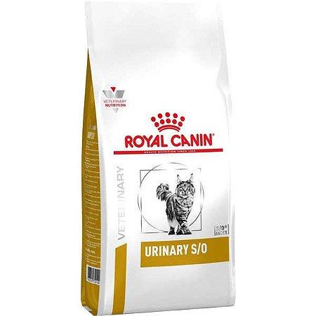 Ração Royal Canin Feline Veterinary Diet Urinary S/O 1,5kg