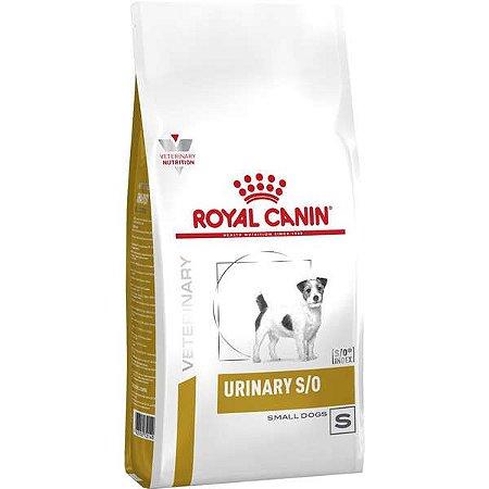 Ração Royal Canin Veterinary Diet Urinary Small Dog para Cães com Doenças Urinárias