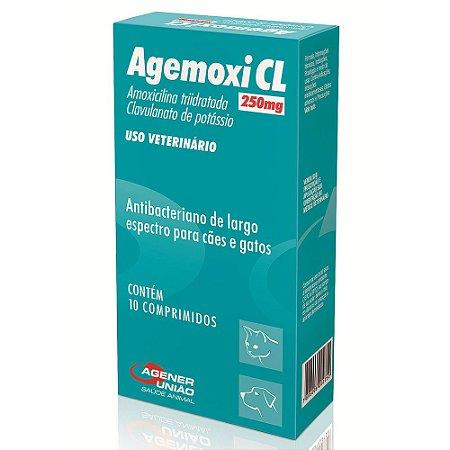 Antibiótico Agener União Agemoxi 250mg CL 10 comprimidos