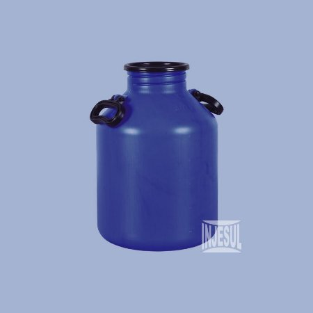Vasilhame para Transporte de Leite 20 litros Azul
