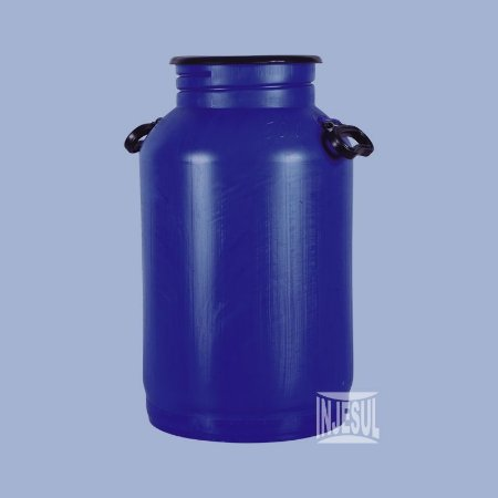 Vasilhame para Transporte de Leite 50 litros Azul