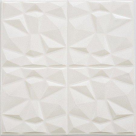 Placa Adesiva 3D Diamante - 70 cm x 70 cm