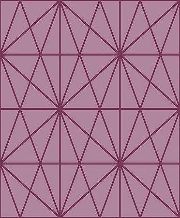 Papel de Parede Vinílico - EPP II - Geométrico - Rosa