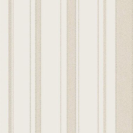 Papel de Parede Vinílico - EPP III - Listrado - off white e bege