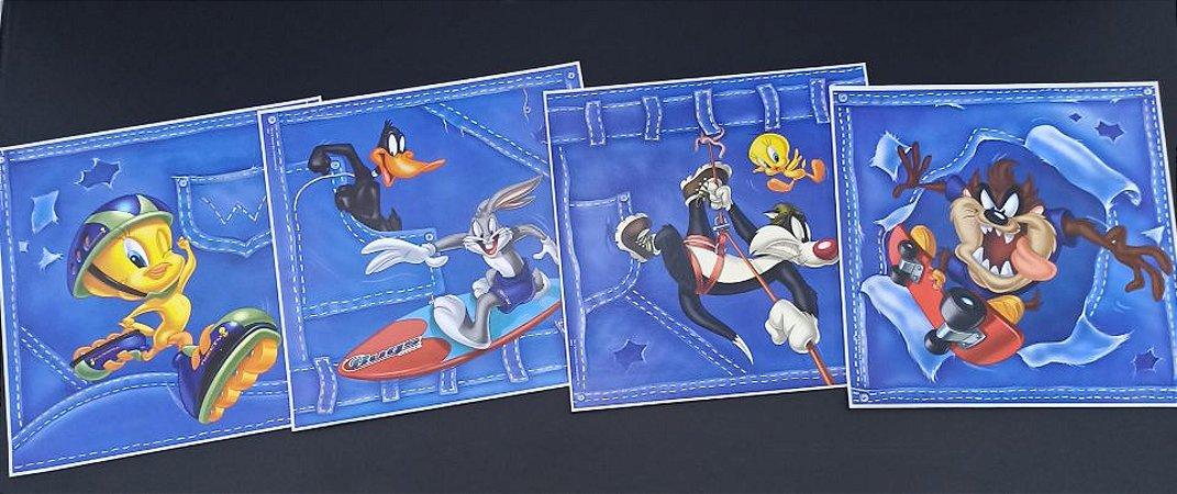 Quadro Adesivo Disney Looney Tunes