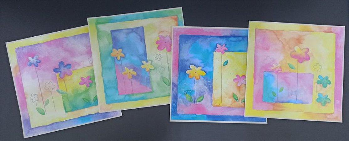 Quadro Adesivo Magic Arts Flores