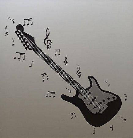 Adesivo Stickers Musical - Guitarra