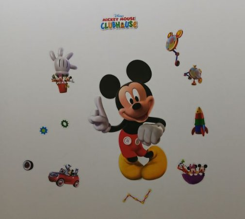 Adesivo Stickers Infantil - Casa do Mickey